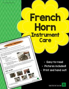 Helpful Horn Hints: Three Places to Oil French Horn Valves - Band Directors Talk Shop Texas Teacher, Band Director, Teaching Career, French Horn, Play S, Music Education, Music Stuff, Master Class, Horns