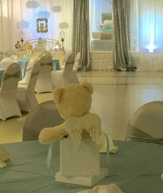 Angel / Heaven Teddy Bears Baby Shower Party Ideas | Photo 6 of 38 | Catch My Party