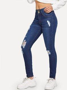 Best Jeans For Women Cj Black Jeans – bueatyk Cute Ripped Jeans, Womens Ripped Jeans, Ripped Jeans Outfit, Ripped Jeggings, High Jeans, High Waist Jeans, Black Jeans, Jeans Women, Denim Pants