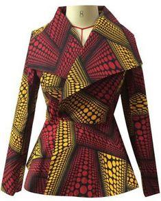 Ankara Xclusive: 2018 Ankara Jacket Style You Will Definitely Fall In Love With - Women Kimono Jackets - Ideas of Women Kimono Jackets African Fashion Ankara, African Inspired Fashion, Latest African Fashion Dresses, African Print Dresses, African Print Fashion, Africa Fashion, African Dress, Ghanaian Fashion, African Prints