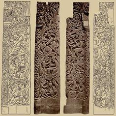 The Wayland Kista ( Old Norse Chest. Norse Runes, Celtic Symbols, Celtic Art, Viking Designs, Celtic Designs, Vikings, Norway Viking, Viking Culture, Nordic Tattoo