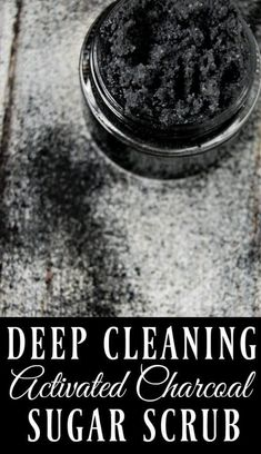 If you want amazing feeling skin, if you want to remove toxins, reduce acne, and have beautiful skin, then this deep cleaning activated charcoal scrub is the scrub for you! #activatedcharcoal #sugarscrub #naturalskincare #greenbeauty #deepcleaning Nu Skin, Face Skin, Oily Skin, Sensitive Skin, Diy Skin Care, Skin Care Tips, Organic Skin Care, Natural Skin Care, Natural Beauty