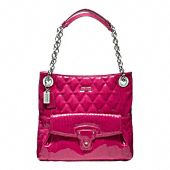 Coach Poppy Liquid Gloss Slim Tote - This might be my daughter's Christmas present!