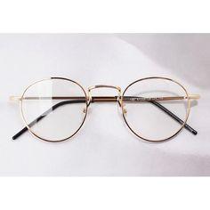 Annons på Tradera: 1920s Vintage Tappning oliver retro glasögon ramar e1061 Gold glasögon