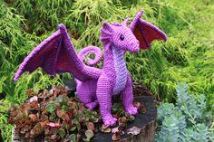 Crocheted Dragons