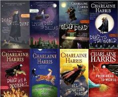 The Southern Vampire Mysteries Series by Charlaine Harris (Sookie Stackhouse novels)