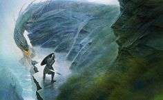 Beowulf and the Dragon by John Howe on Curiator, the world's biggest collaborative art collection. Ancient Egypt History, Ancient Egyptian Art, Ancient Aliens, Ancient Greece, Tolkien, Hobbit, John Howe, Legendary Dragons, Fire Breathing Dragon
