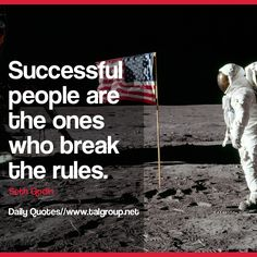 Career Lesson: Successful people are the ones who break the rules. #Leadership #Quote #Success #Business