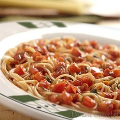 Secret Copycat Restaurant Recipes – Olive Garden Capellini Pomodoro Recipe