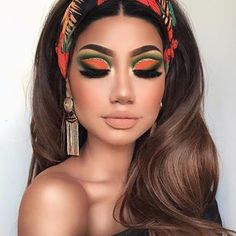 Newest and Colorful Eyeshadow Design Ideas and Images Part eyeshadow looks; eyeshadow looks step by step colorful Newest and Colorful Eyeshadow Design Ideas and Images Part 1 Glam Makeup, Eyeshadow Makeup, Makeup Art, Makeup Tips, Hair Makeup, Makeup Trends, Eyeshadows, Eyeshadow Ideas, Makeup Ideas