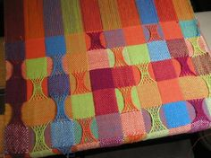 This is just the coolest thing! A FiberArtisan's Weaving Path - 3D Woven Sprang