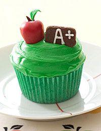 A+ cupcake.