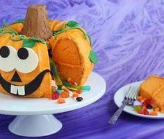 Pumpkin Pinata Cake Tutorial