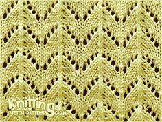 Horseshoe Lace Stitch Pattern