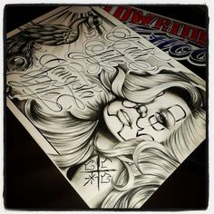 Chicano Love, Chicano Art, Tattoo Sketches, Tattoo Drawings, Behind Ear Tattoos, Letras Tattoo, Chicano Drawings, Pride Tattoo, Cholo Art