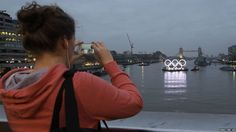 Olympic Rings on the Thames #prstunts (thanks for the tip off @rossb82)