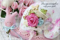 """Купить Улиточка """"Цветы в саду"""" - васильковый, тильда, розы, нежный, сердце, улитка Тильда, улитка"""