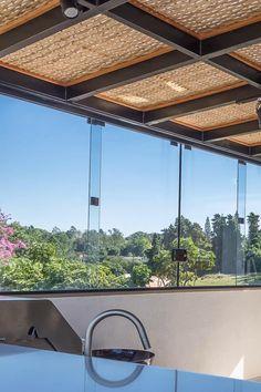 Terrace Design, Roof Design, Garden Design, House Design, Modern Pergola, Pergola Patio, Modern Villa Design, Mexican Home Decor, House Extension Design