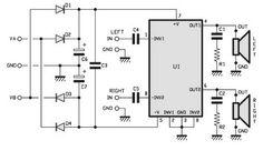 15Watts Stereo Amplifier Circuit