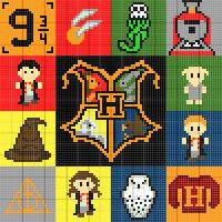 Stitch Fiddle is an online crochet, knitting and cross stitch pattern maker. Stitch Fiddle is an online crochet, knitting and cross stitch pattern maker.,Zeichnen Stitch Fiddle is an online crochet, knitting and cross stitch. Colchas Harry Potter, Pixel Art Harry Potter, Tricot Harry Potter, Harry Potter Perler Beads, Harry Potter Cross Stitch Pattern, Harry Potter Crochet, Cross Stitch Pattern Maker, Cross Stitch Patterns, Crochet Pixel