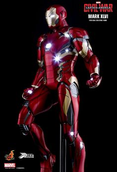 The Mark 46 (Mark XLVI) is the forty-sixth Iron Man Armor created by Tony Stark. It is set to appear in the upcoming film, Captain America: Civil War. No information available...
