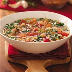 Bean and Pasta Soup Recipe