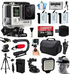 GoPro HERO4 Hero 4 Silver Edition 4K Action Camera Camcorder with Ultimate Accessory Bundle includes 32GB MicroSD + 3x Extra Batteries + Home & Car Charger + Card Reader + Large Case + Action Stabilizer Hand Handle + Full Size Tripod + Car Suction Cup Mount + LED Video Light + Head Helmet Strap + Dust Cleaning Kit(CHDHY-401)  http://www.discountbazaaronline.com/2015/07/11/gopro-hero4-hero-4-silver-edition-4k-action-camera-camcorder-with-ultimate-accessory-bundle-includes-32gb-microsd..