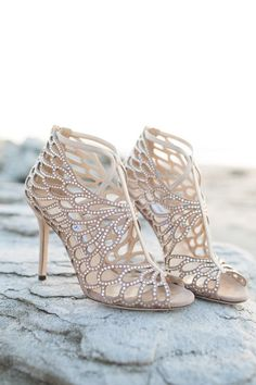 Featured Photographer: Koby Brown Photography; wedding shoes idea