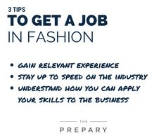 3 Tips To Get A Job In Fashion (written by a former fashion recruiter)