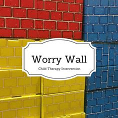 I have seen many adaptations of the Worry Wall intervention in my time as a therapist. I have to admit though, this is my favorite! This intervention helps children identify their anxieties, gain c…
