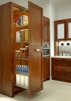 Contemporary Walnut Kitchen Cabinets Traditional By Plain Fancy Custom Cabinetry