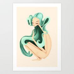 weird+girl+Art+Print+by+Renia+-+$15.00