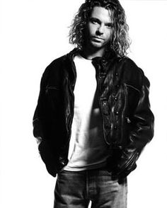 """Michael Hutchence, lead singer of INXS, Suicide by hanging: """"It's just as difficult to live in a self-made hell of privacy as it is to live in a self-made hell of publicity""""."""