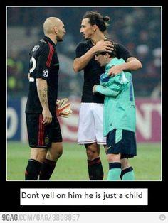 Ibrahimovic the daddy