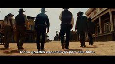 São 7 homens que fazem de TUDO para salvar uma cidade!  Sete Homens e um Destino estreia HOJE nos cinemas ;)