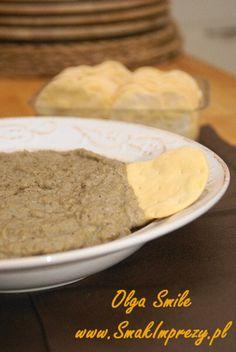 Pasta z bakłażana - przepis Olgi Smile