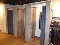 winkelinrichting steigerhout - Google zoeken