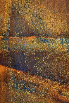 """Rusted Landscape"" - © David Librach"