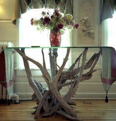 Driftwood Furniture, Driftwood Tables, Driftwood Art - Gainesville, Fl