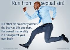 ☞ Flee from Sexual Immorality - Memorize 1 Corinthians 6:18 ☜