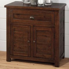 Brown Mango Wood Cabinet | Cabinets