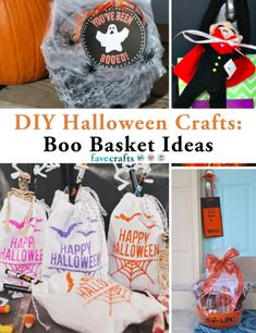 """We love the """"You've Been Booed"""" Halloween tradition! It's a great way to celebrate Halloween 2020, and we're excited to share these creative ideas for boo baskets from our friends at FaveCrafts."""