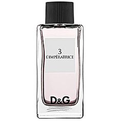 D  #3 L'IMPERATRICE - my go-to scent!  This citrus, light but sweet smell gets people noticing everytime.  I can't tell you how many people ask me what I'm wearing when I put this perfume on.  It is mysterious and exotic but not over-bearing, I feel great when I'm wearing it and love it for the evenings.