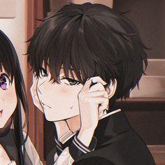 𝐼𝑙𝑢𝑠𝑡𝑟𝑎𝑡𝑜𝑟: mery-pixiv ¡𝓕𝓸𝓵𝓵𝓸𝔀 𝓶𝓮!  --𝒯𝒶𝑔𝓈--  #anime #match #icons #senpai #tumblr #aesthetic #animeicons #manga #mangagirl #mangaicons #mangaboy #tv #tvicons #weheartit #animeicons #cosplay #pixiv #demongirl #demonboy #sexygirl #sexy #animegirl #anime #iconsgirl #girl #boy #animeaesthetic #animetumblr #tumblr #picsart #pinterest Anime Couples Drawings, Anime Couples Manga, Anime Couples Sleeping, Anime Couples Hugging, Romantic Anime Couples, Couple Drawings, Cute Anime Profile Pictures, Cute Anime Pics, Friend Anime