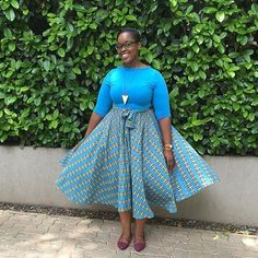 Isn't she lovely! Thank you @lesedibmasha for sharing your #shoppingspacesa outfit! #safashion