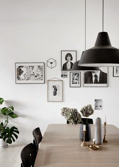 Our Old Apartment in Bolig Magasinet, Scandinavian interior design, via Scandinavian Love Song