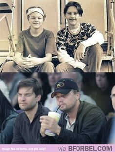 Tobey Maguire and Leonardo DiCaprio Are Besties For Life…