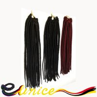 African Hairstyles Synthetic Faux Locs Braiding Hair Extension, Senegalese Twist Crochet Hair, Best Hair For Crochet Braids