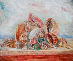 James Ensor - Still-Life with Shells