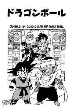 Ler mangá Dragon Ball - Capítulo 184 online